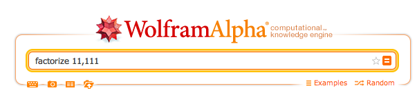 Wolfram Alpha Query