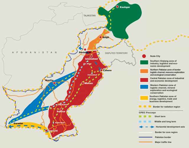 CPEC Map